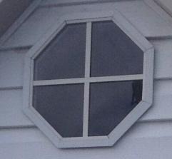 Octagon Window $150