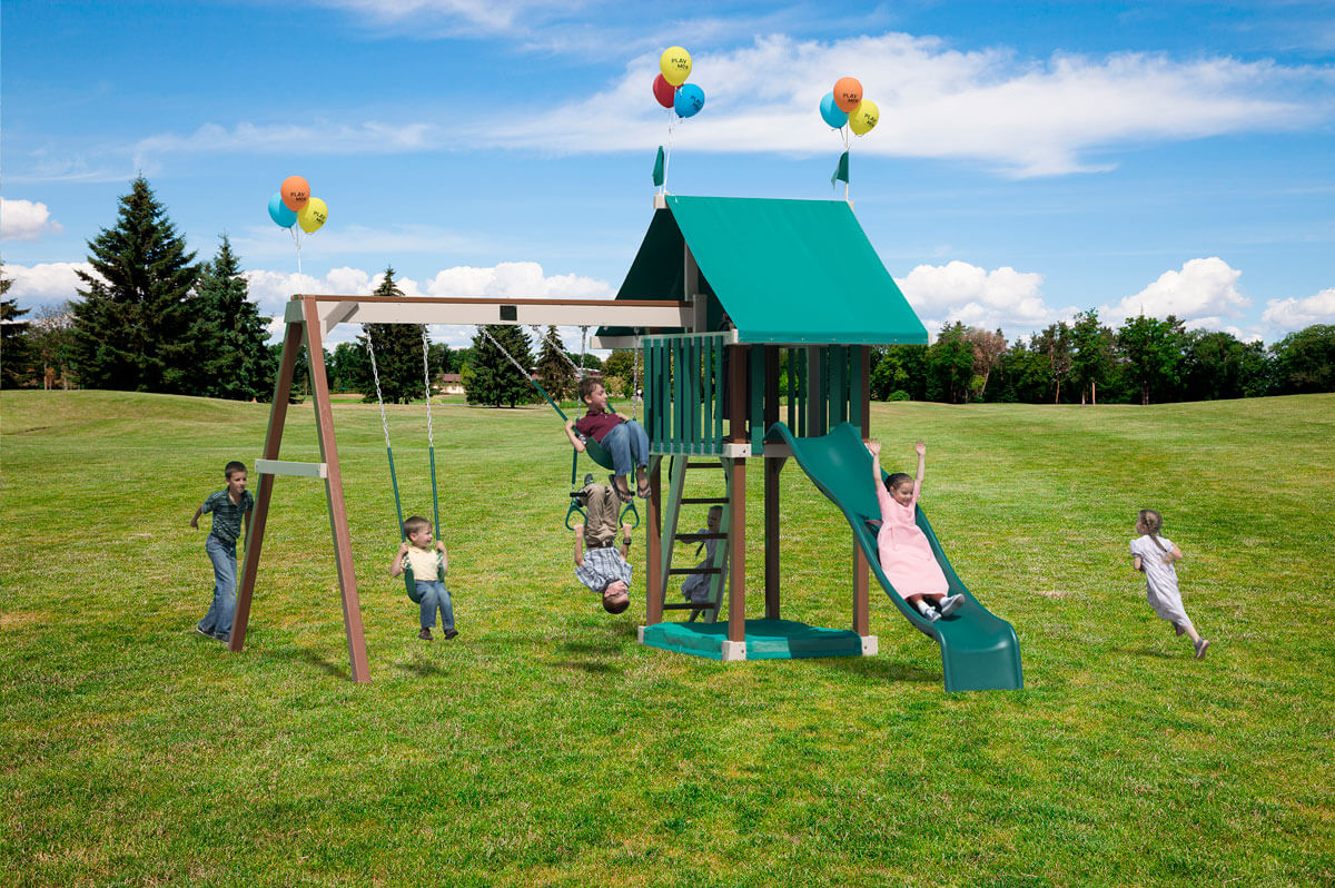 Dimensions: 14' L x 15.5' W Floor Height = 5' Swing Height = 8'