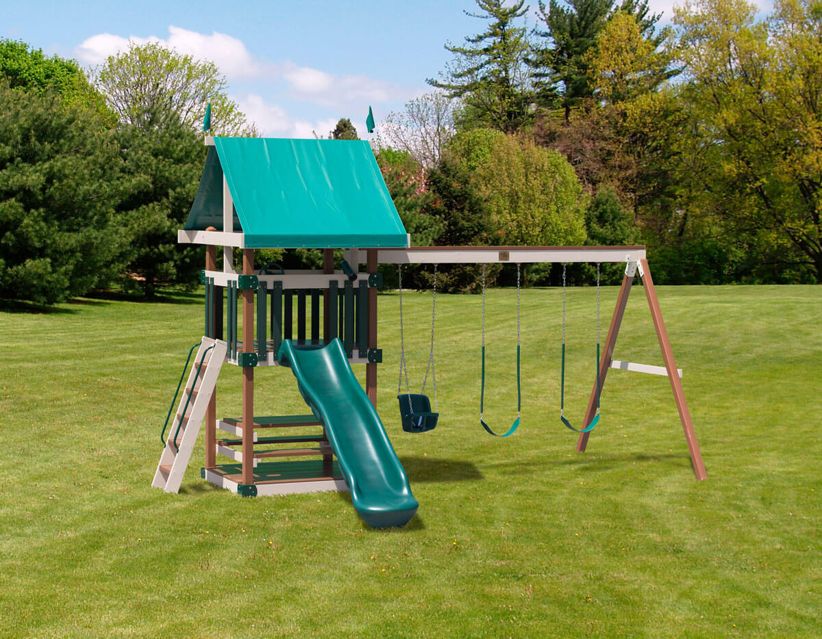 Dimensions: 19.5' L x 13' W Floor Height = 5' Swing Height = 8'