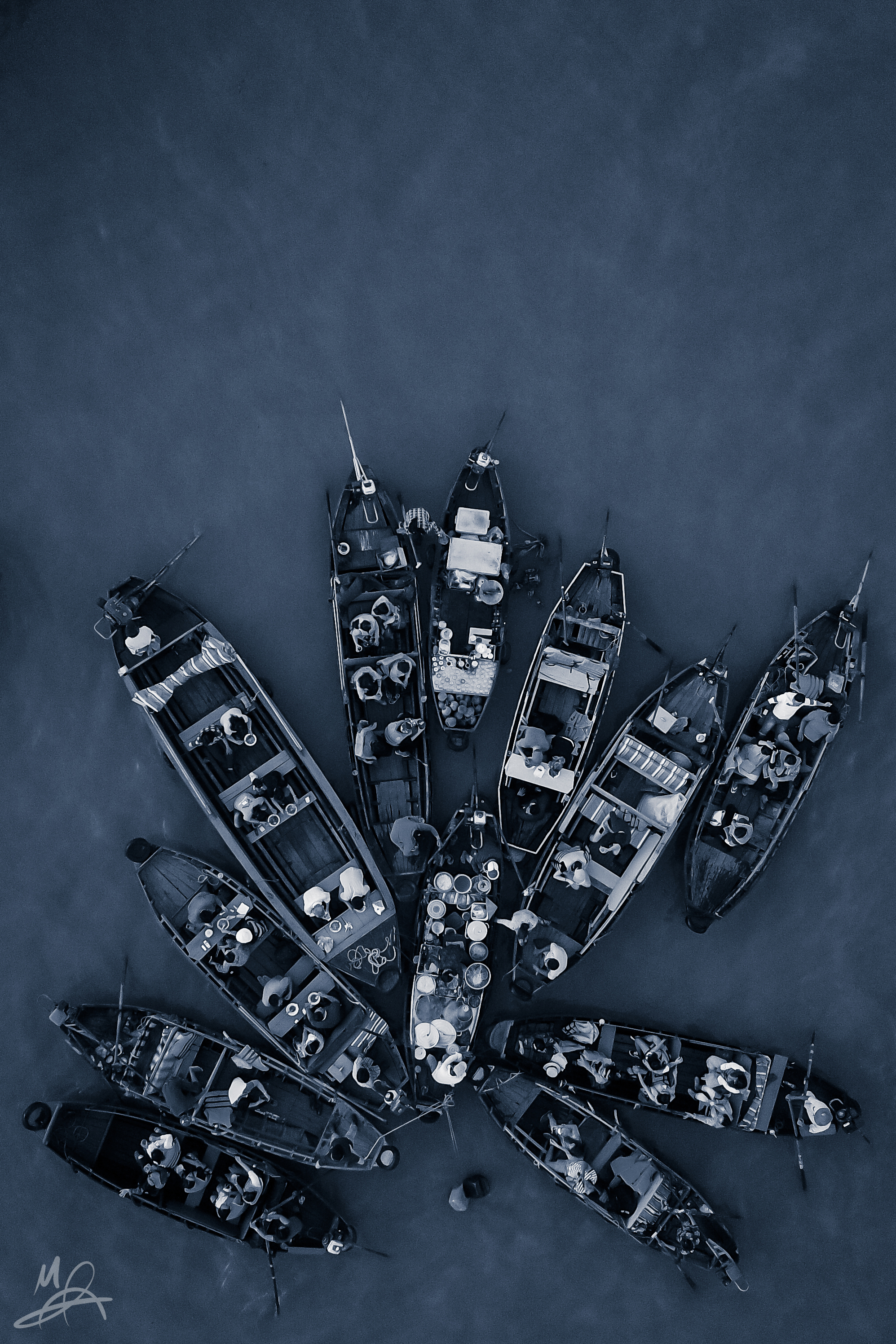 A Flower of Boats