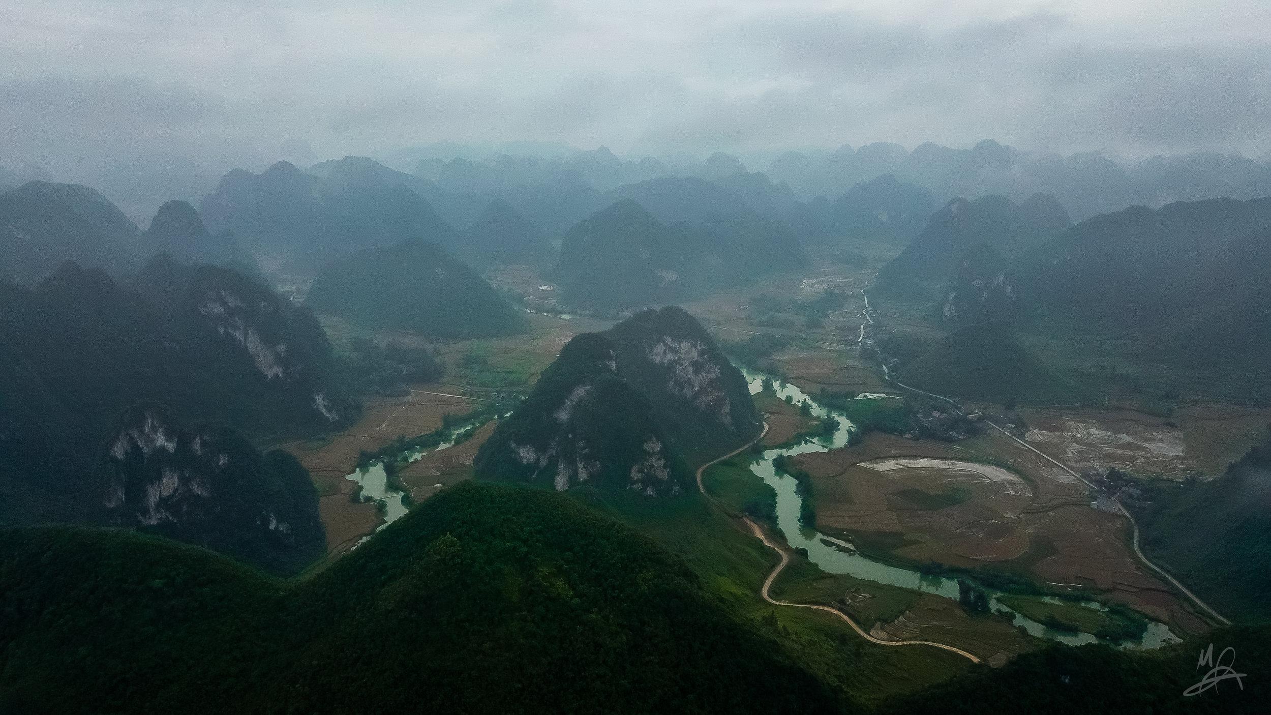 Mountains of Cao Bang