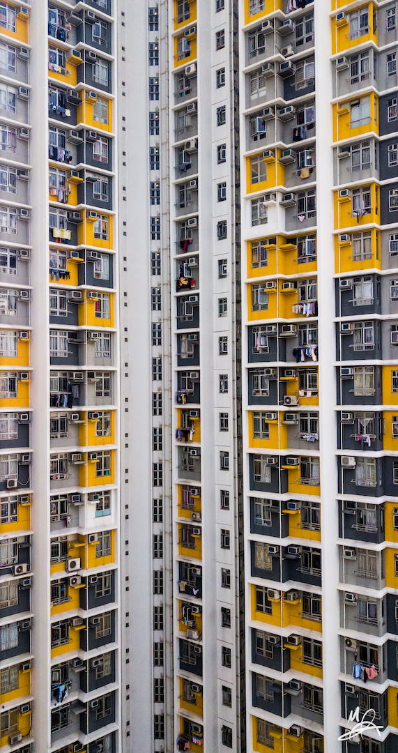 Hong Kong public housing estate - portrait 1/6