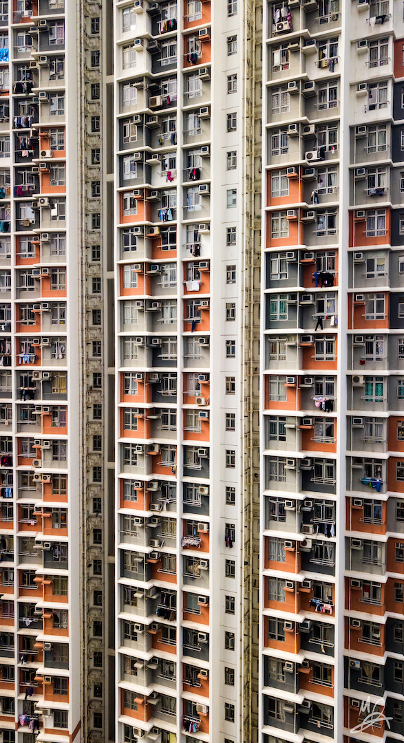 Hong Kong public housing estate - portrait 2/6