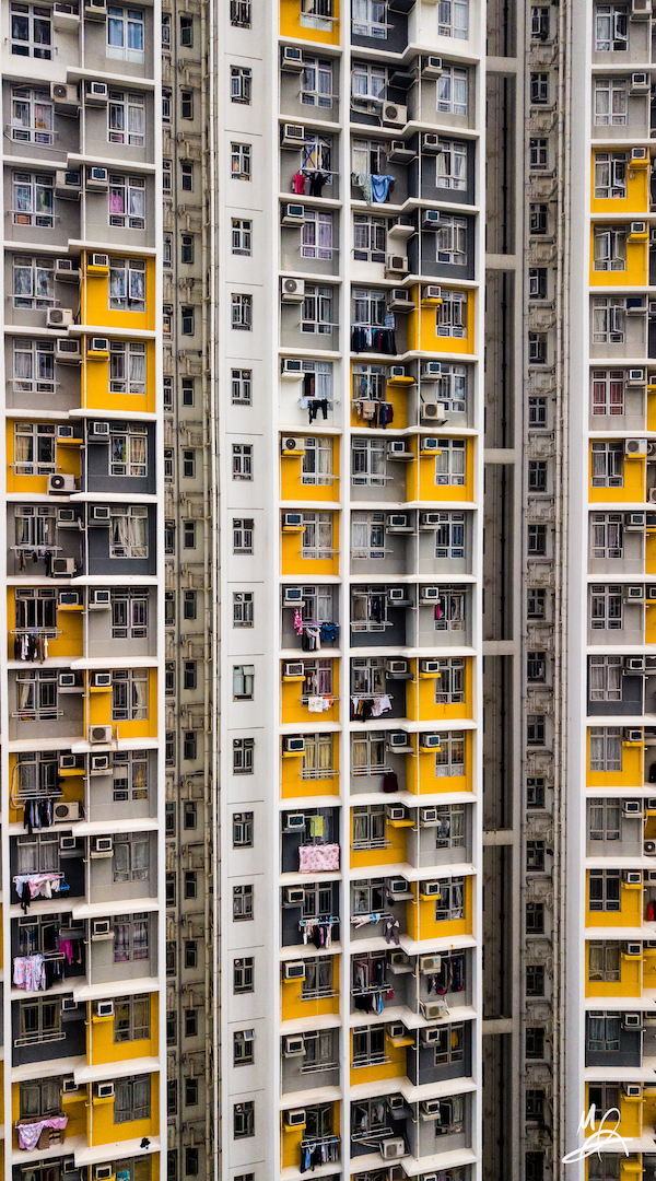 Hong Kong public housing estate - portrait 3/6