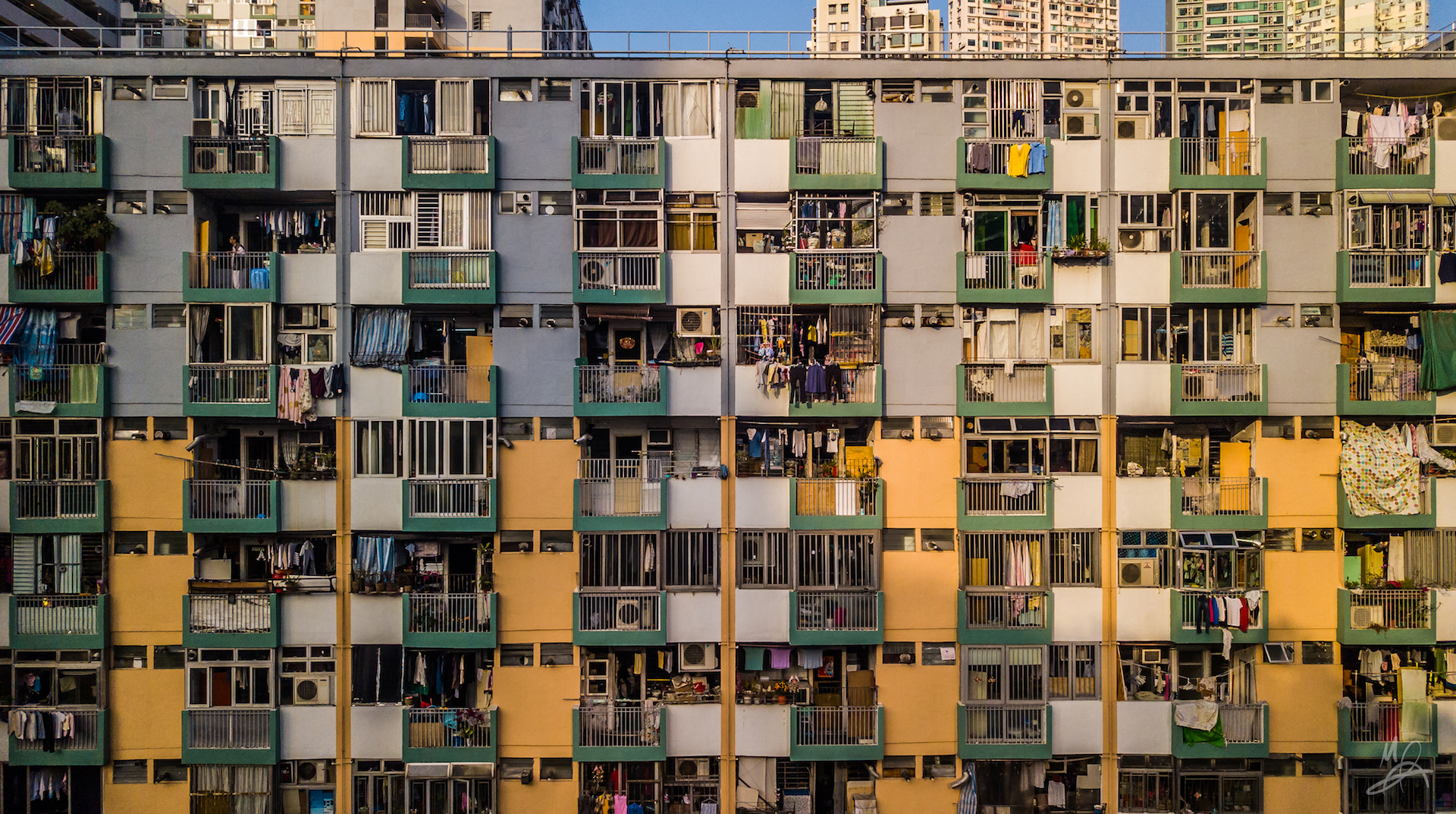 Hong Kong public housing estate - landscape 5/5