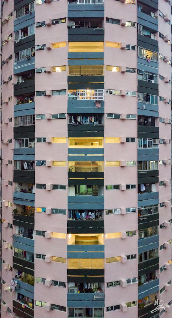 Hong Kong public housing estate - portrait 5/6