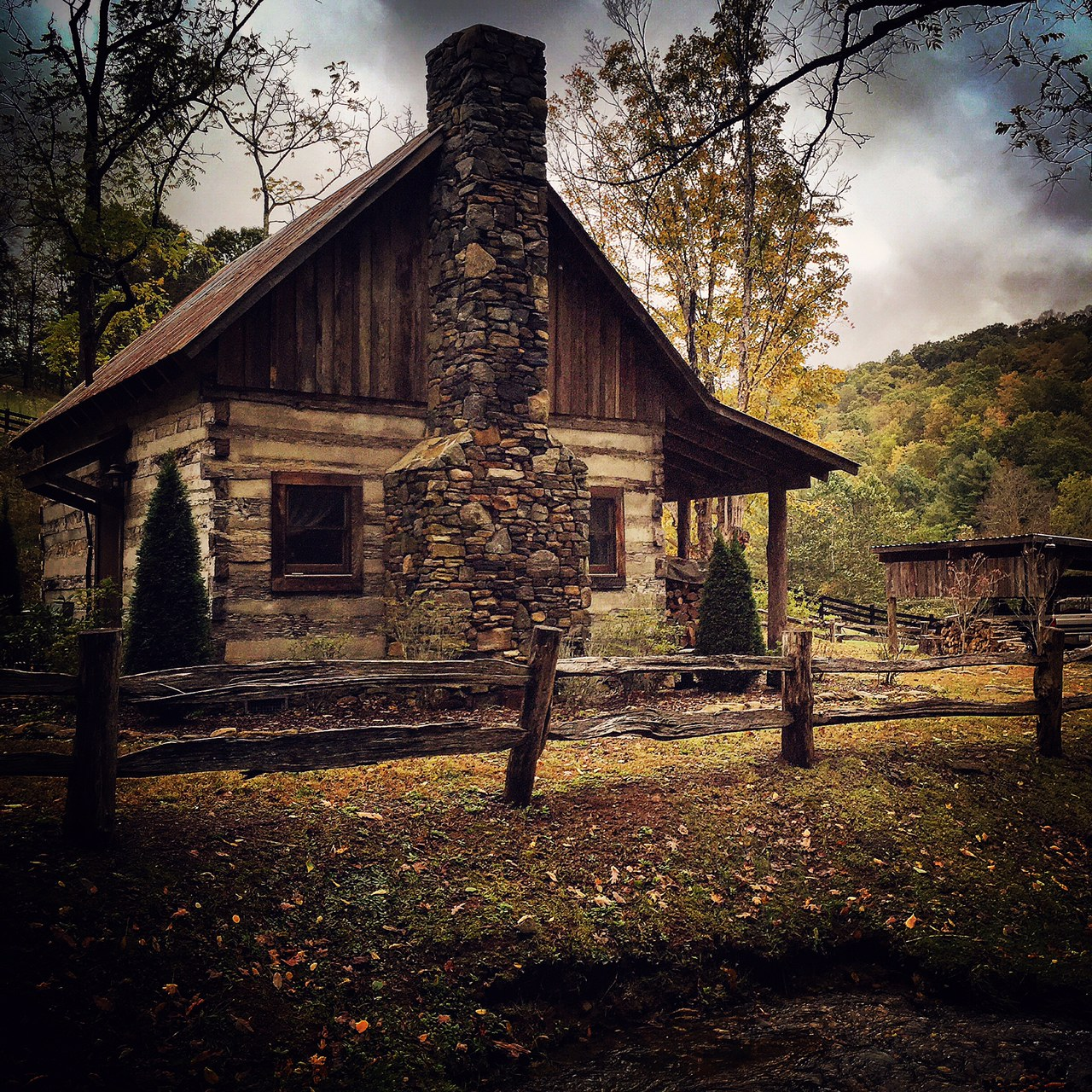 Rustic Cabin at GMF.JPG