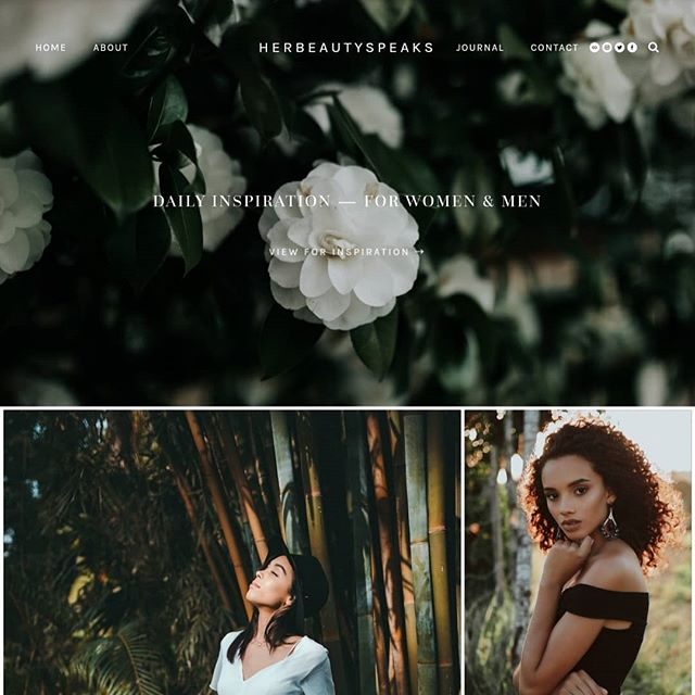 We're SO excited to announce that the rebrand + new website — herbeautyspeaks.com for our Founder + Art Director @_herbeautyspeaks is NOW live! Where you can find daily inspiration for women & men on the journey of self-love + beyond. We couldn't be any more in love with the results 😍 Full case study will be coming soon 🙂💗 . . #tajwebdesignco #branding #storytelling #creativecommunity #creativecultivate #elevatecultivate  #creativestudio #squarespace #creativepreneur #lifestyle #instagram #girlboss #workfromwherever #creativecommunity #irlpreneur #bossbabe #femalepreneurs #womeninbusiness #womenwhoinspire #fromwhereiwork #thecreativegrid #dailyinspo #thiscreativelife #girlpreneur