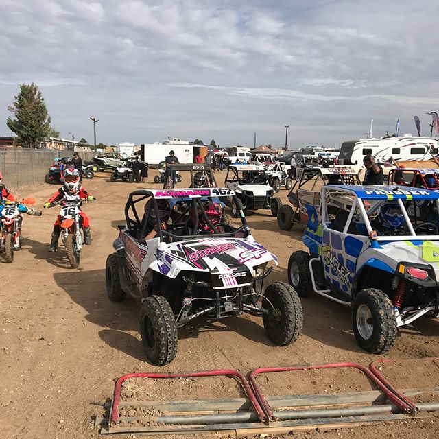 The new little team #staggsracing girl Haven had her first race today. It was awesome. She is hooked now. @polarisrzr #rzr170 #girlswhorace #family #funtimes #racefamily @rabbit164 @megaltmann @carsonaltmann_264 @brock_fast @thedirtseries #racing #racelife #sxsracing #5yearsold #dirtgirl