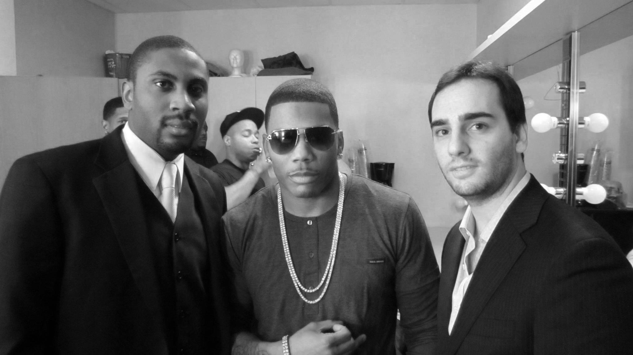 Jonathan Emile / Nelly / NT - Las Vegas 2012