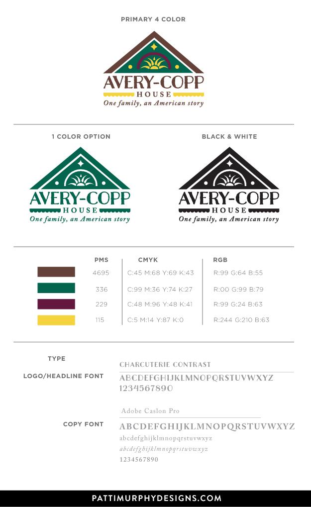 Avery Copp House Brand Board
