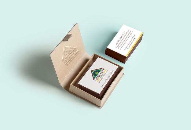 Avery Copp House Business Cards, Patti Murphy Designs
