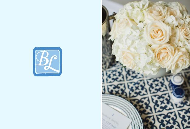 Blue Lane Events Monogram Logo // Patti Murphy Designs