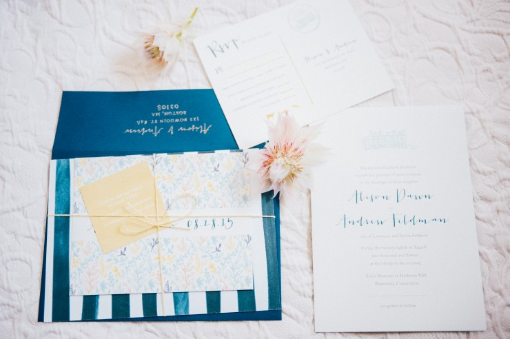 Whimsical Watercolor Invitations