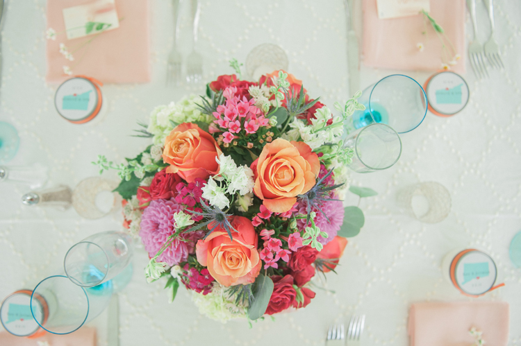 Whimsical Connecticut Wedding Florals