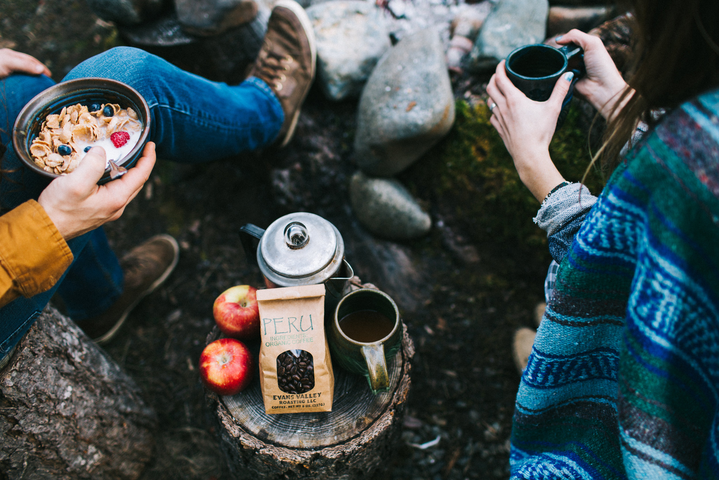 Evan's Valley Roasting | Lifestyle Photography