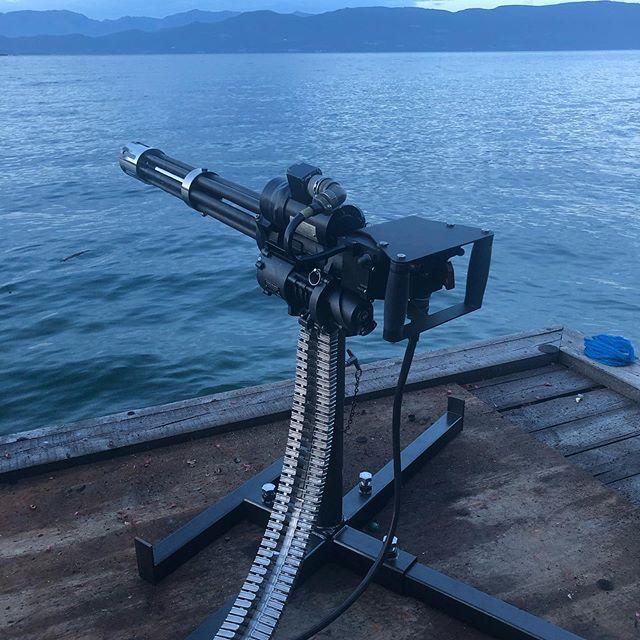 Mini guns are so much fun!!!!!!! #local #kalispell #montana #fullauto #machinegunsmontana #minigun #2a #pewpew #guns #gunsandammo #dillon