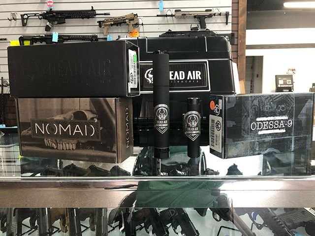 Got a raft of Dead Air suppressors in stock now!!! Come check them out!!! We have super prices and a kiosk to make purchasing quick and easy!!!! Thanks to #deadairsilencers and #silencershop. #2a #suppressors #silencers #local #kalispell #montana #pewpew #gunsandammo #freedom #quiet #stfu #shutup #biteme