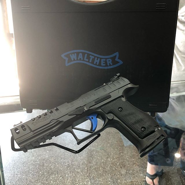 Check out this awesome Walther Q5 steel frame 9mm!!!! Very very nice 👍. #walther #9mm #pewpew #2a #guns #gunsandammo #local #kalispell #montana #cool #machinegunsmontana