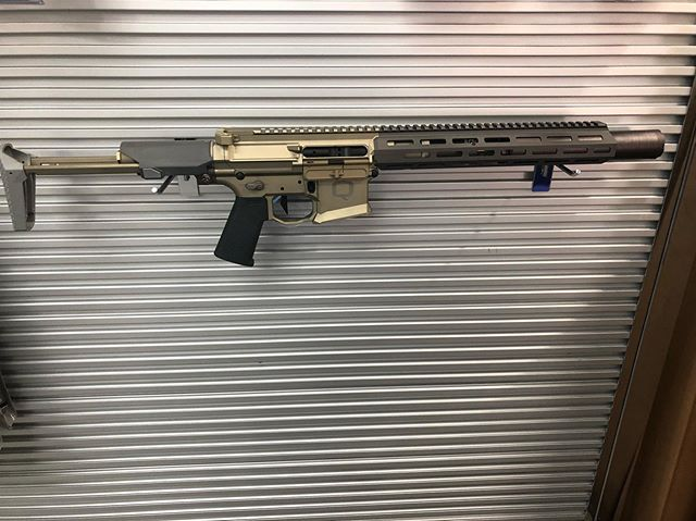 Just in!  Q Honey Badger SBR with a Q Honey Badger suppressor factory installed!!! In 300 blackout!!!!! We only have a few, so don't miss out!!!!! #Q #Honeybadger #2a #pewpew #gunsandammo #local #kalispell #montana #suppressed #coolguns #freedom #guns