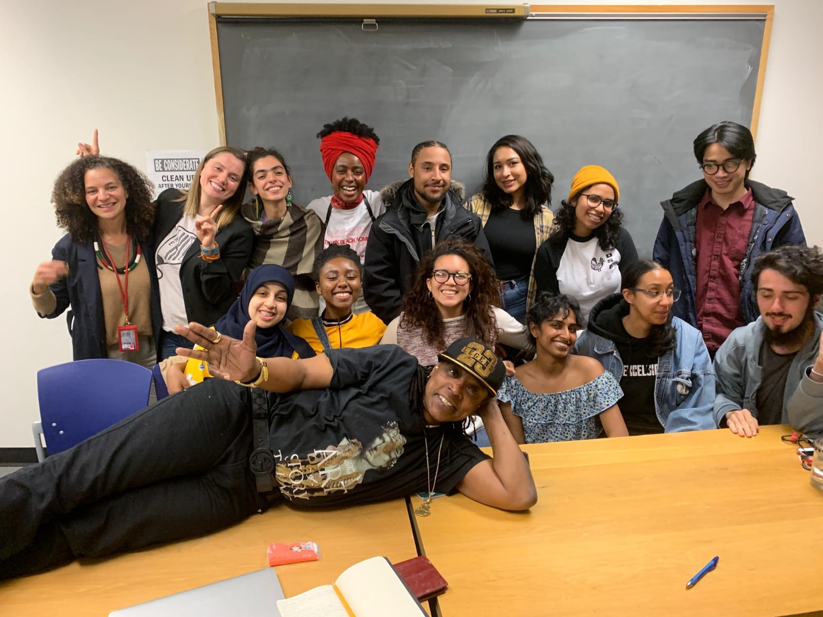 THE KITE @ City College - Munchie, Joel and Gigi spoke at City College about writing, incarceration and healing through the arts.