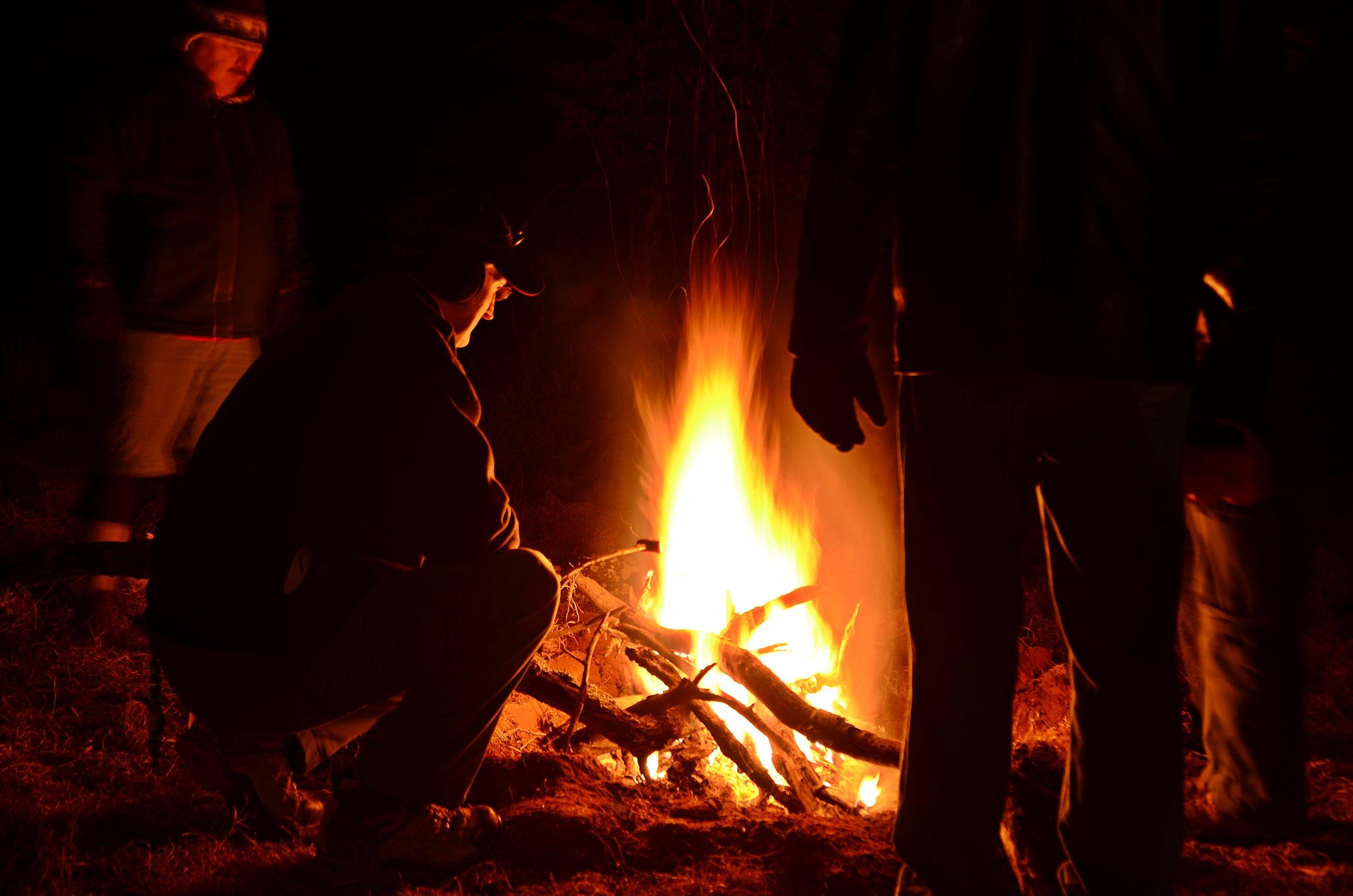 - We like fire.