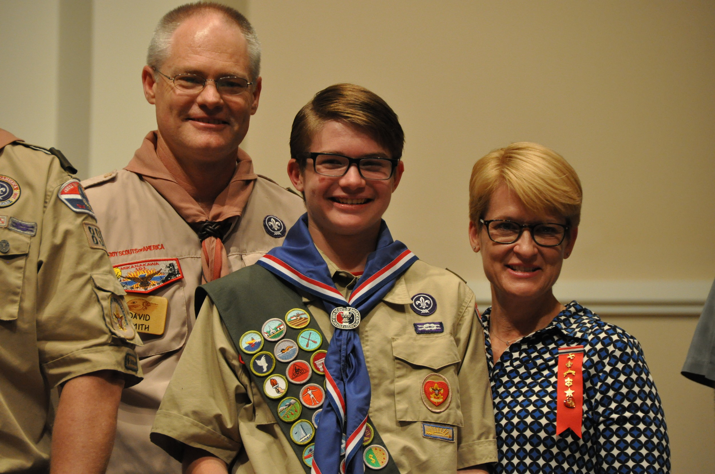 - We celebrate our Eagle Scouts. Even prankster #491.