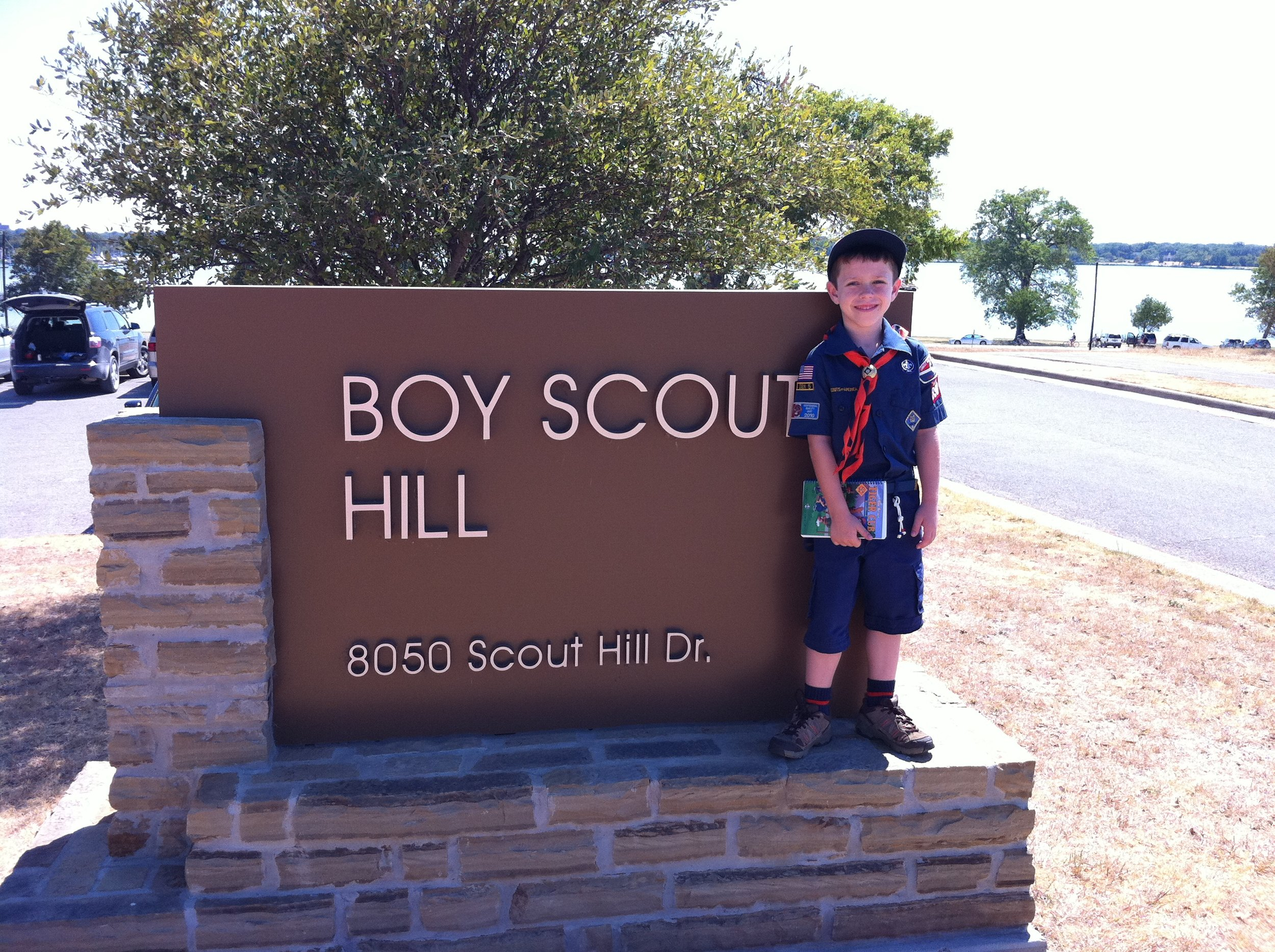 Cub scout pack 890 - They start as little Lions and Tigers. Girls and boys. Then they grow up.
