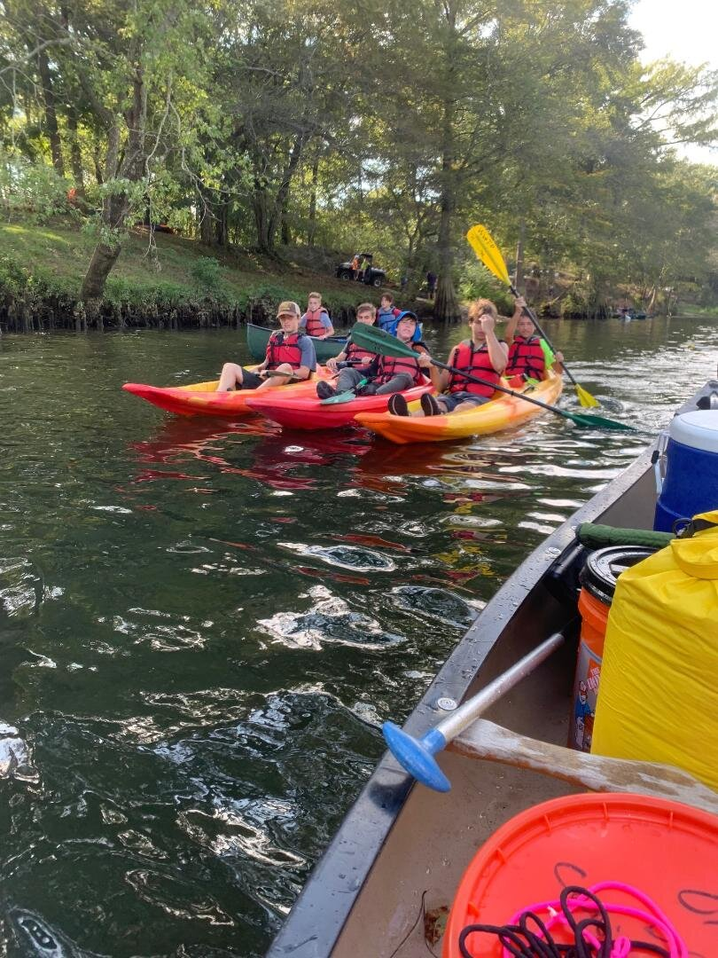 """- a kayak """"raft"""""""