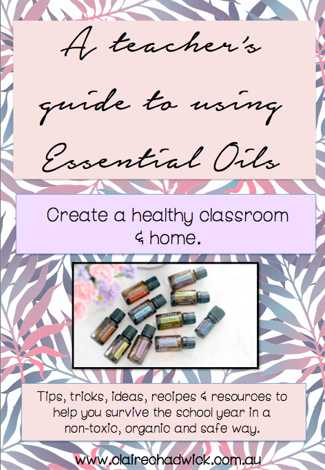 Using Essential Oils in the classroom and home for Teachers, Educators and Parents.