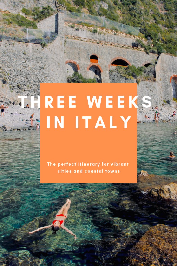Italy Itinerary | Cereal for Lunch