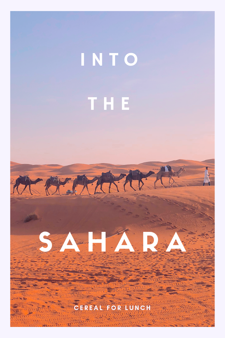 Into the Sahara | Cereal for Lunch