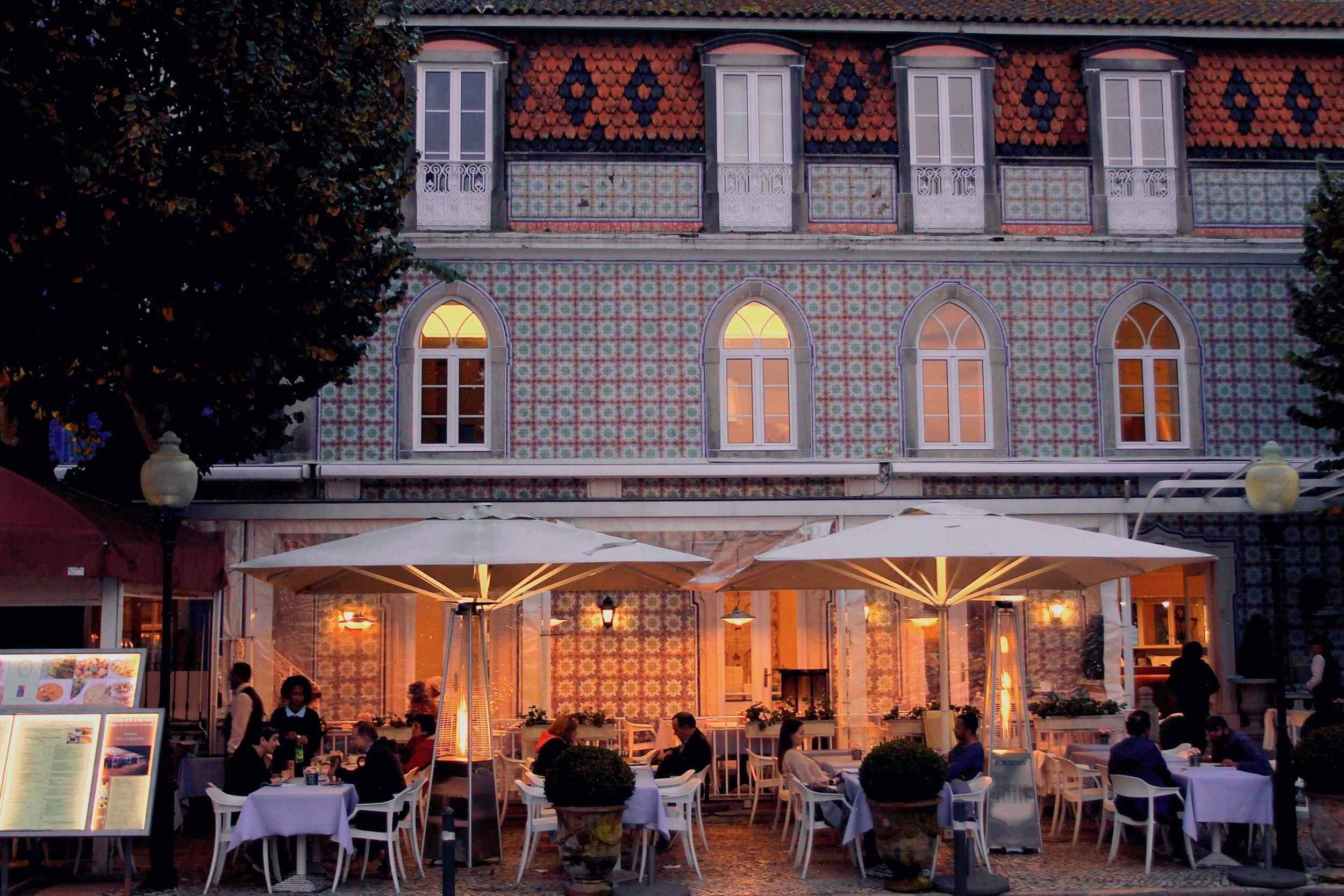 Restaurant in Sintra, Portugal