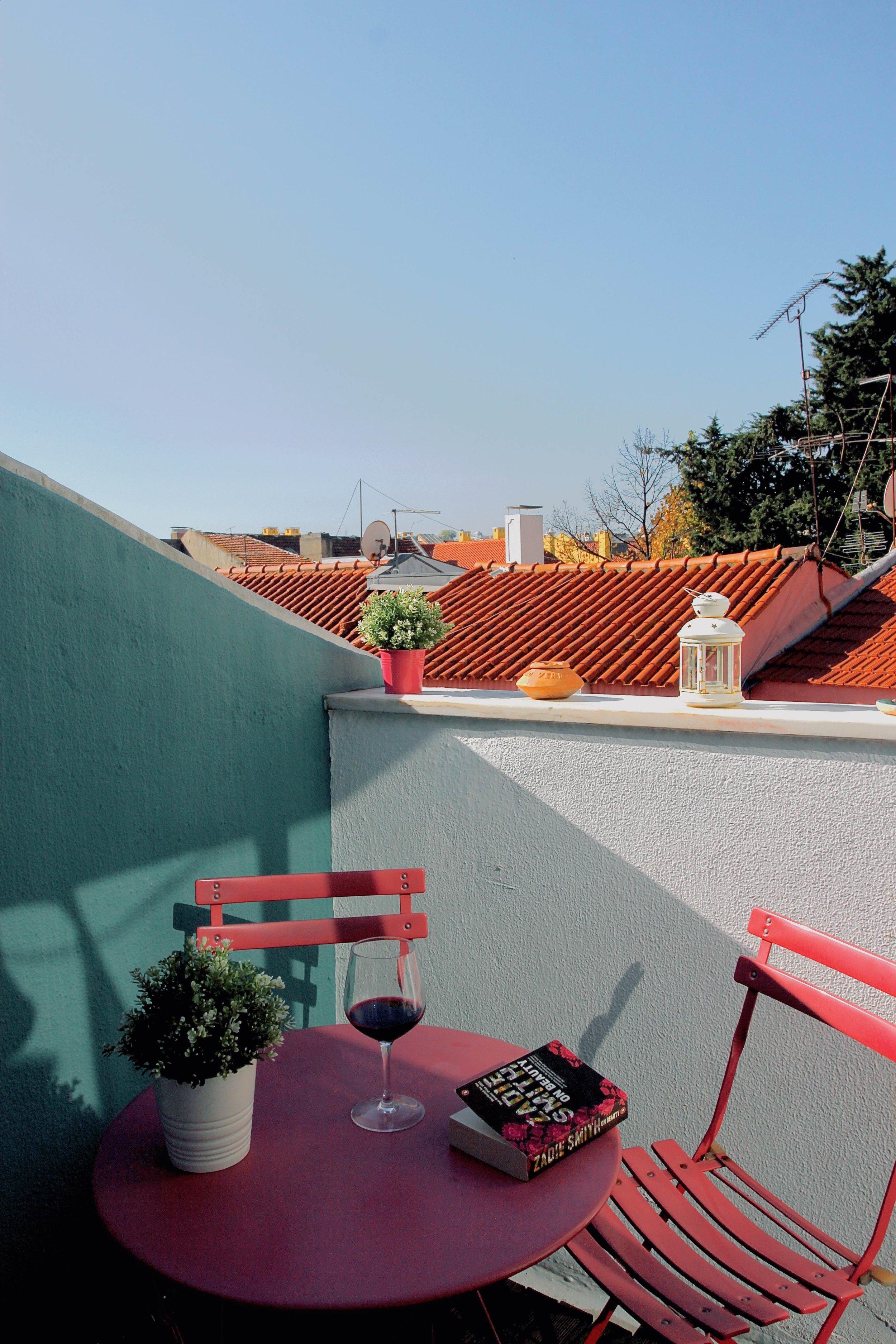 Our terrace in Bairro Alto