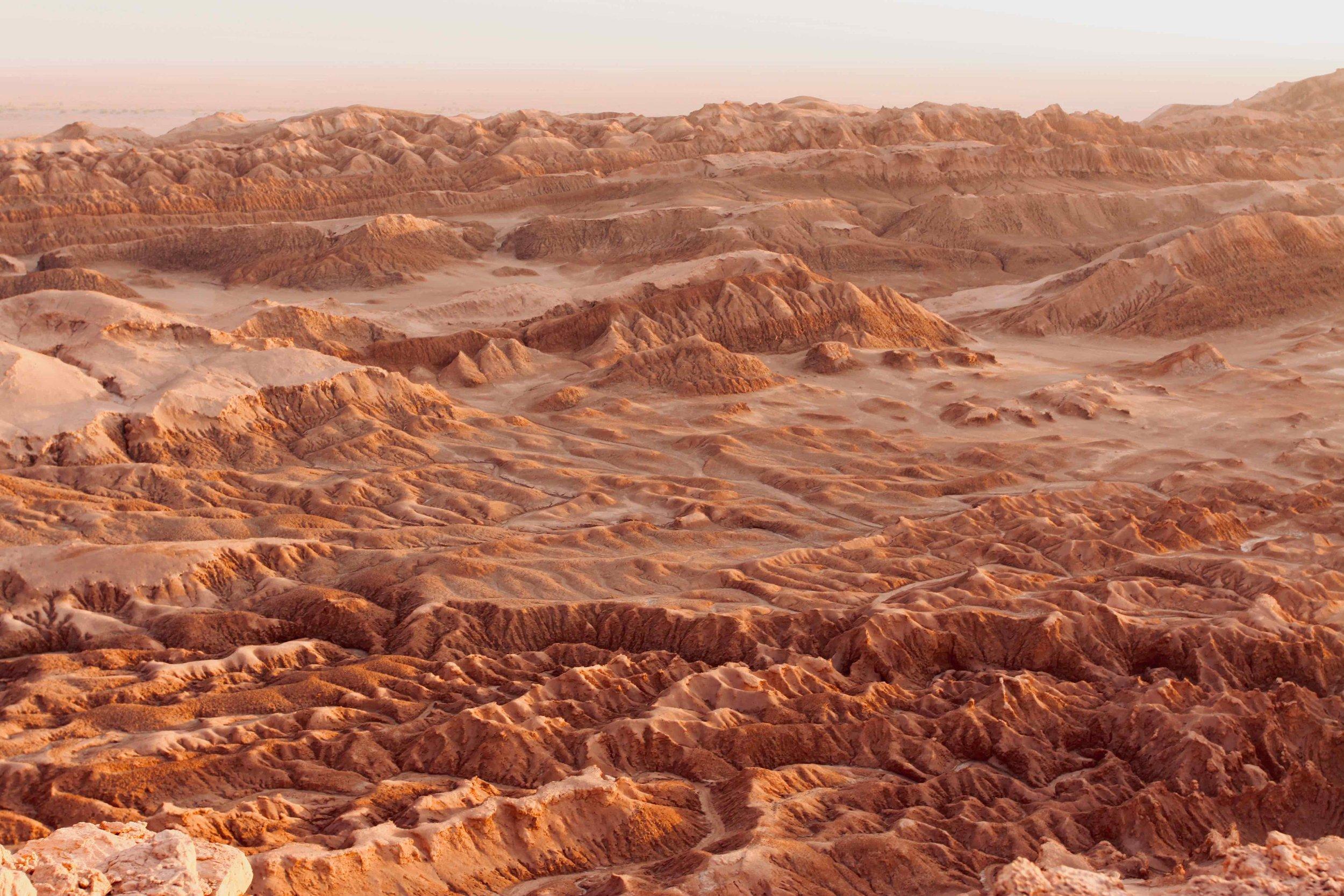 Valley of Mars, Atacama Desert Chile