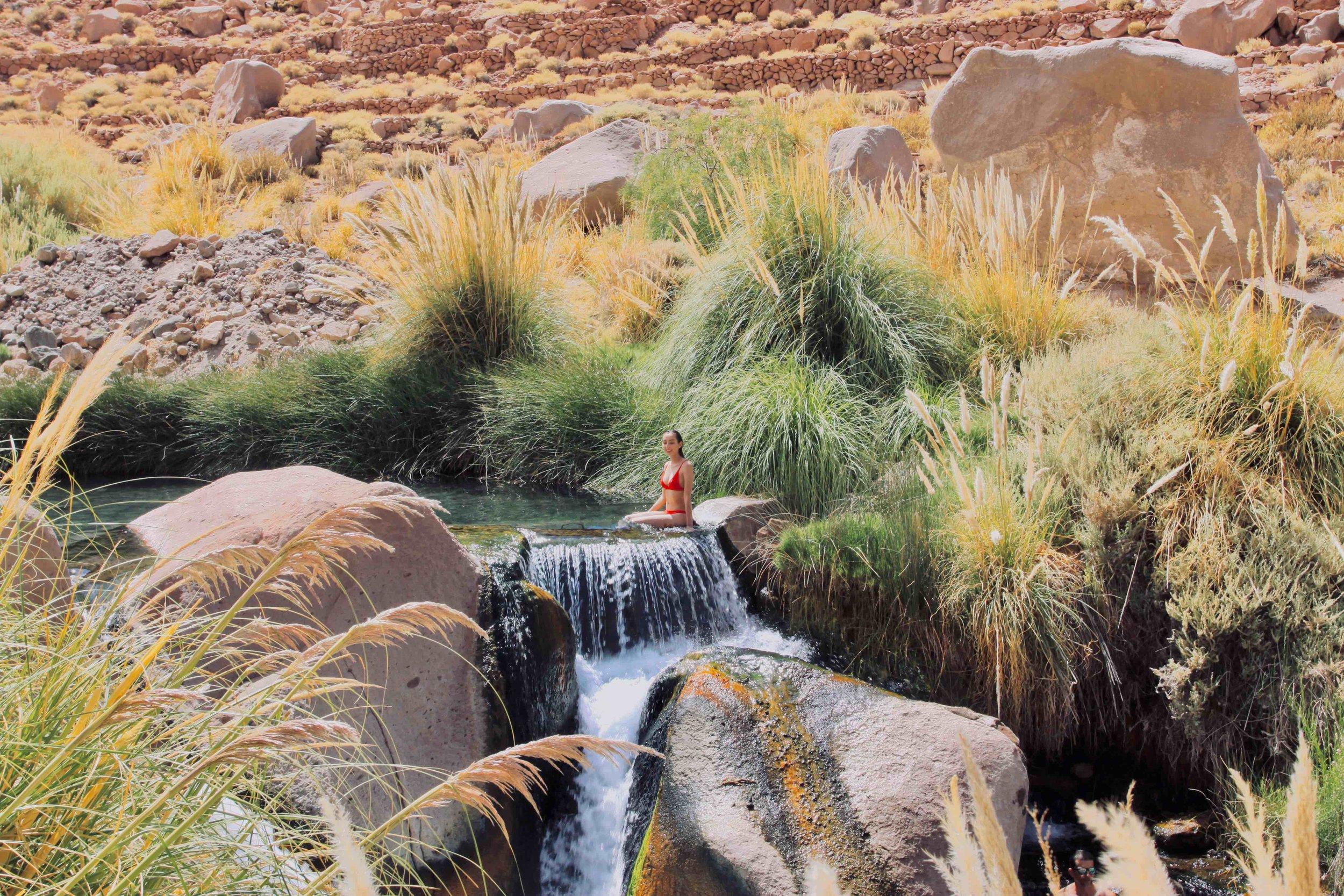 Puritama thermal springs, Atacama Desert Chile