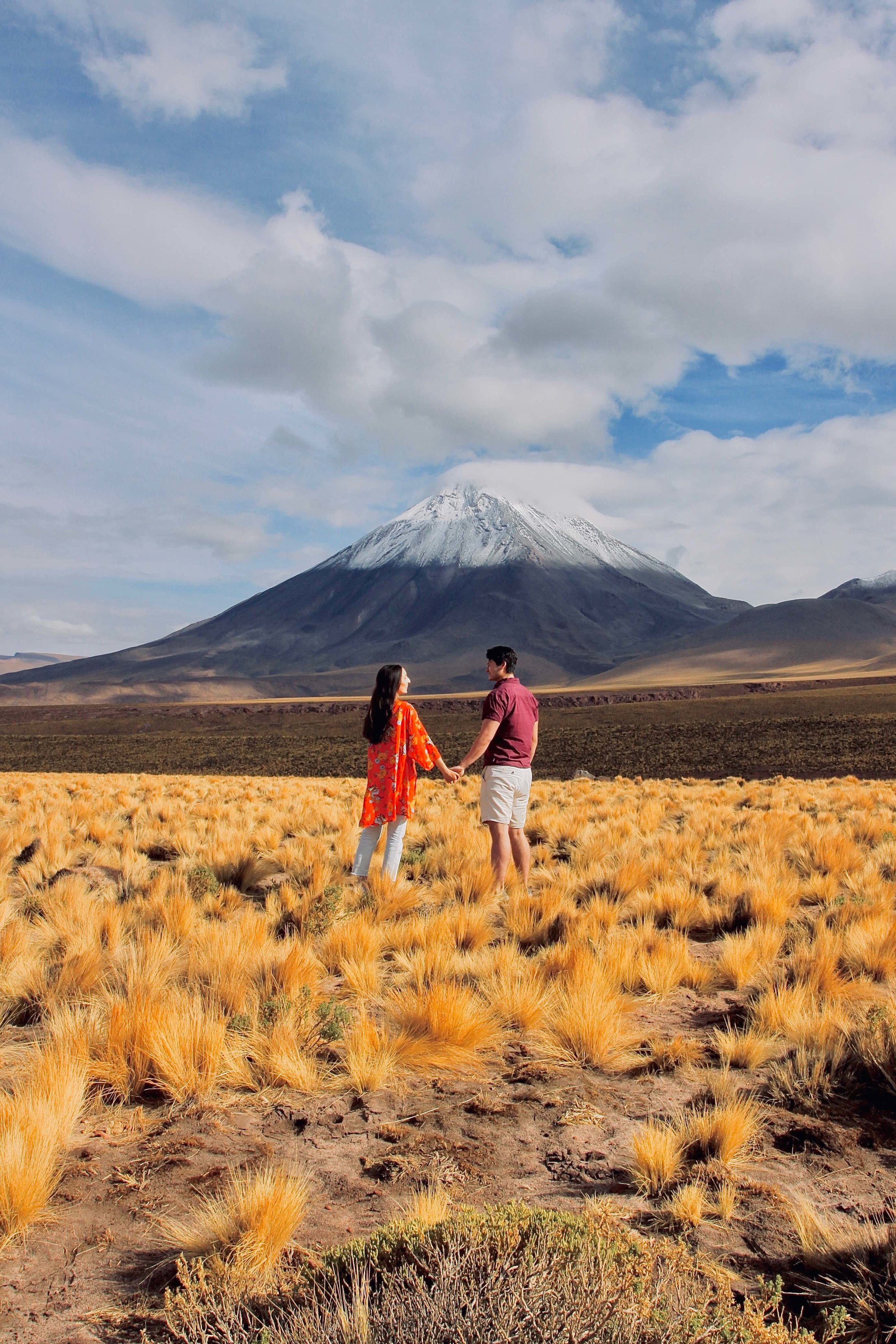 Licancabur Volcano, Atacama Desert Chile