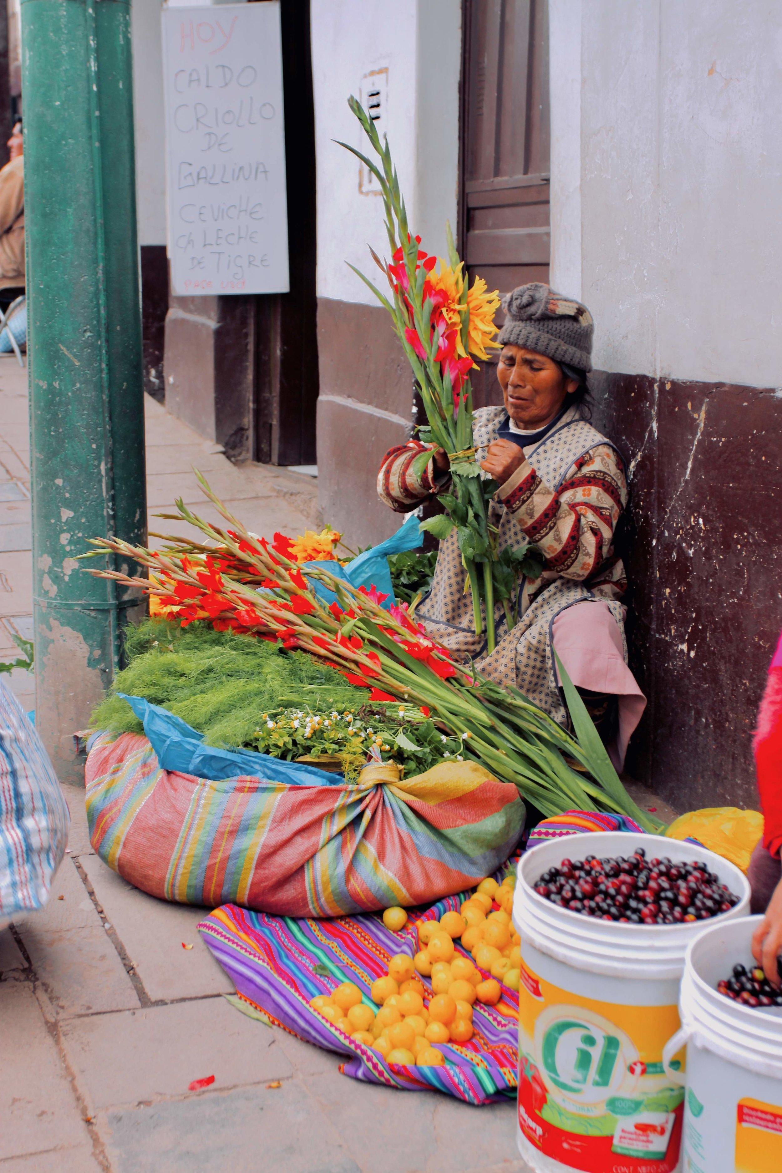 Cusco photo collection markets