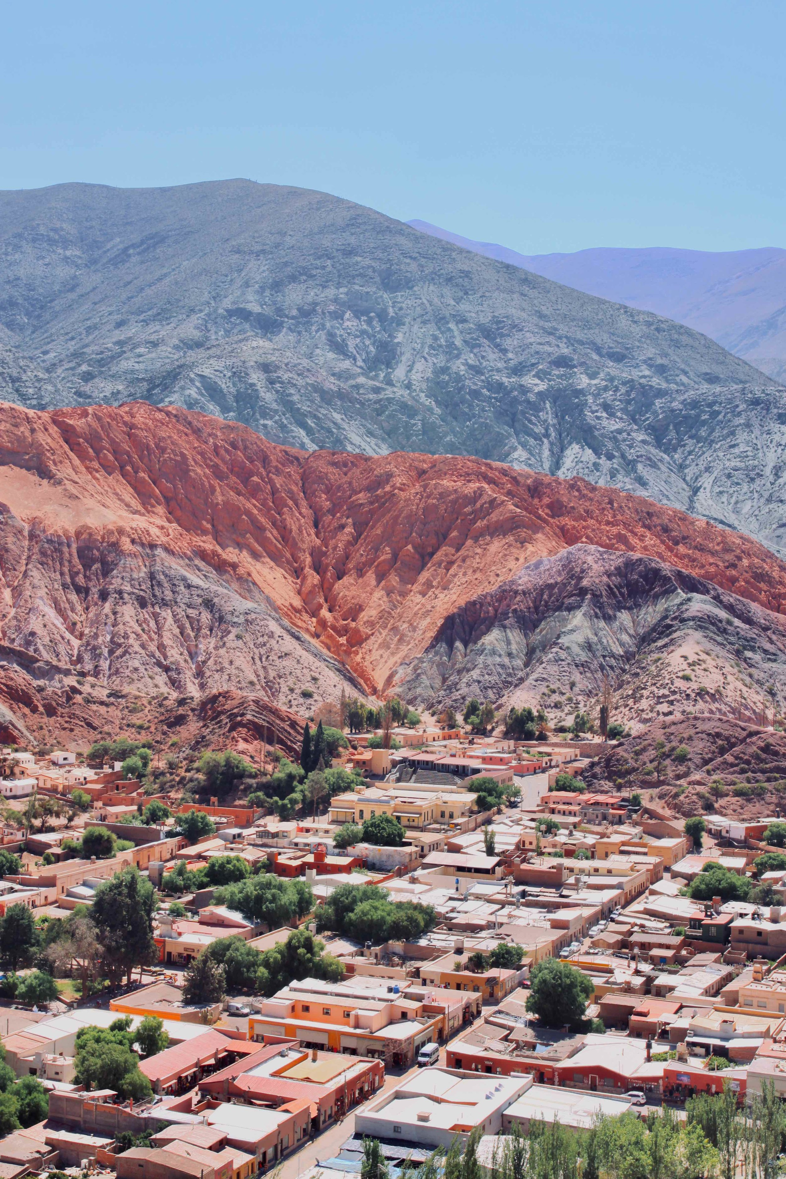 Hill of Seven colours around Purmamarca, Argentina