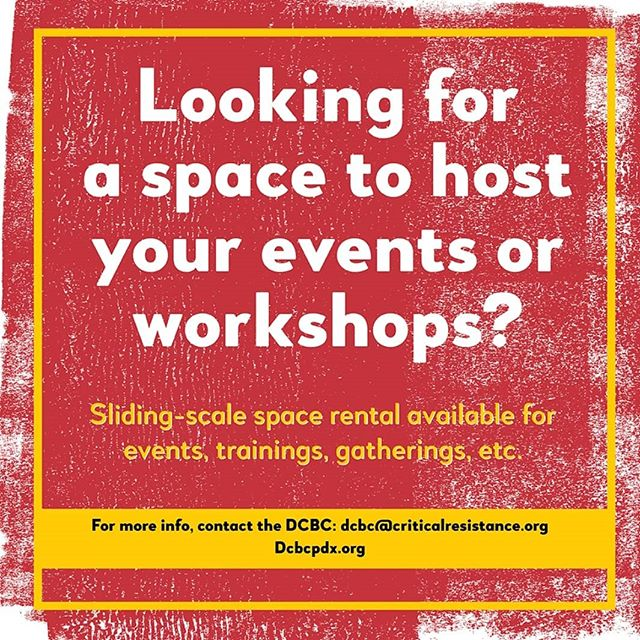 DCBC is a vibrant community space that is open to hosting a variety of events!