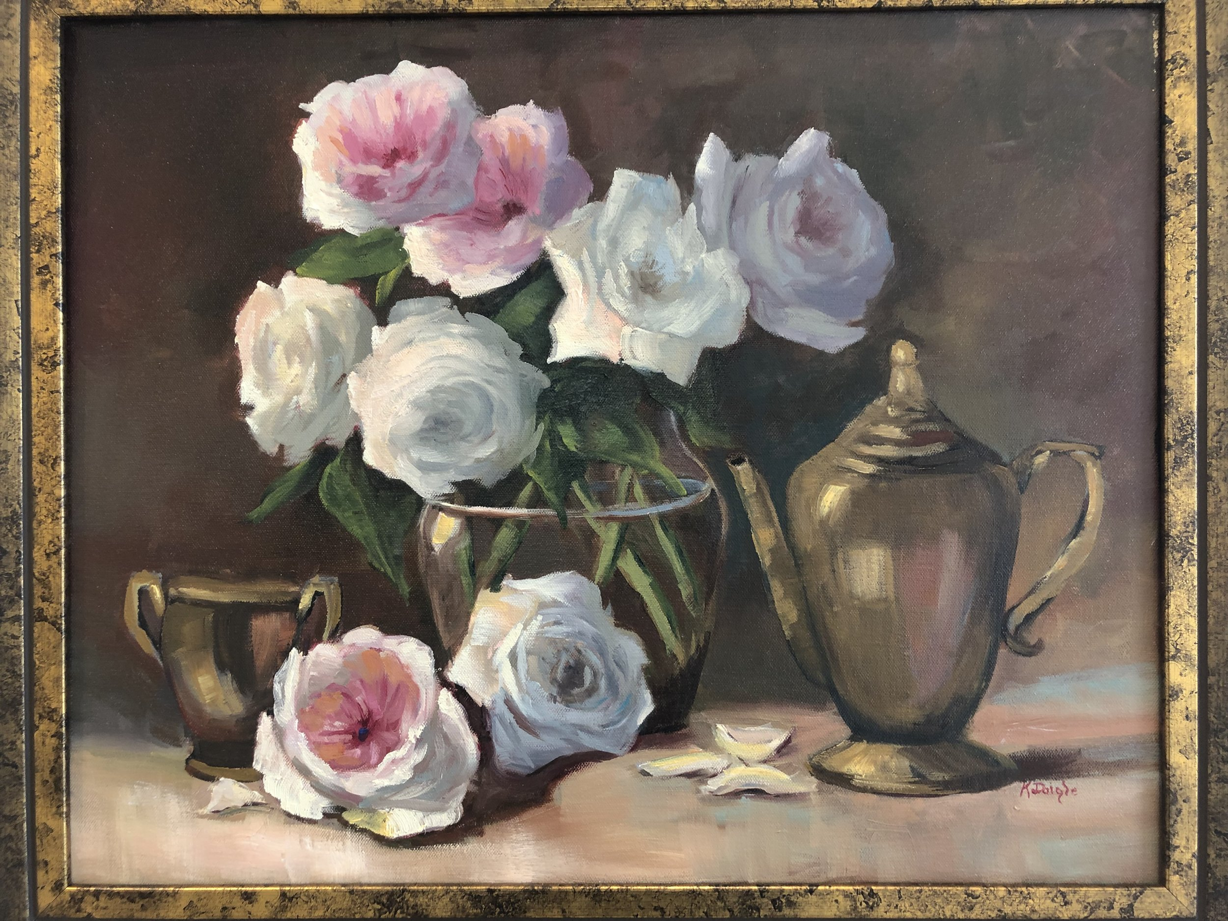 Summer Roses by Kathy Daigle
