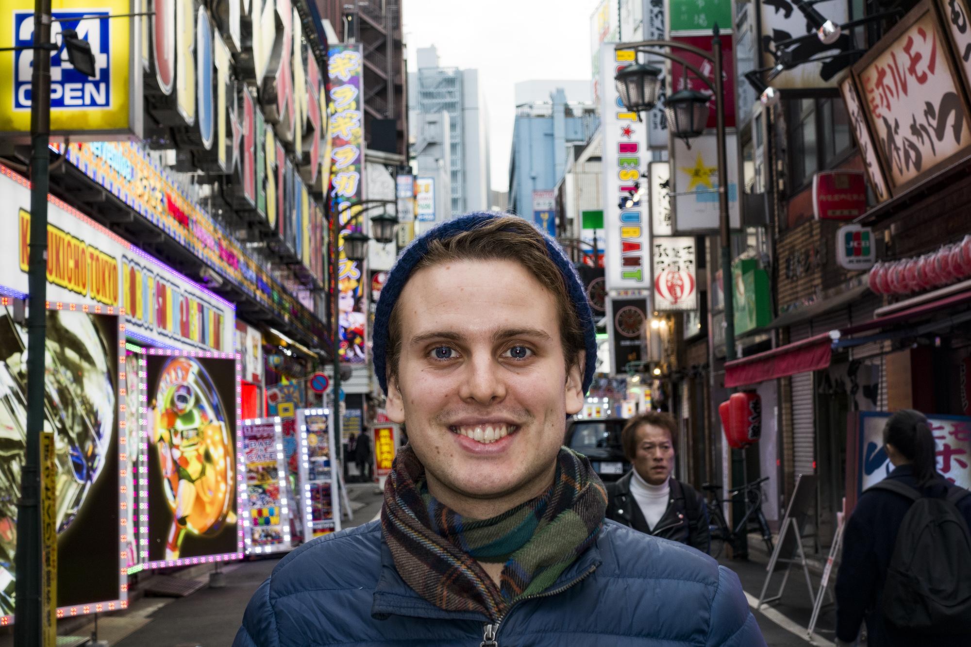 Jakob in Kabukichouヤコッブさん、歌舞伎町で