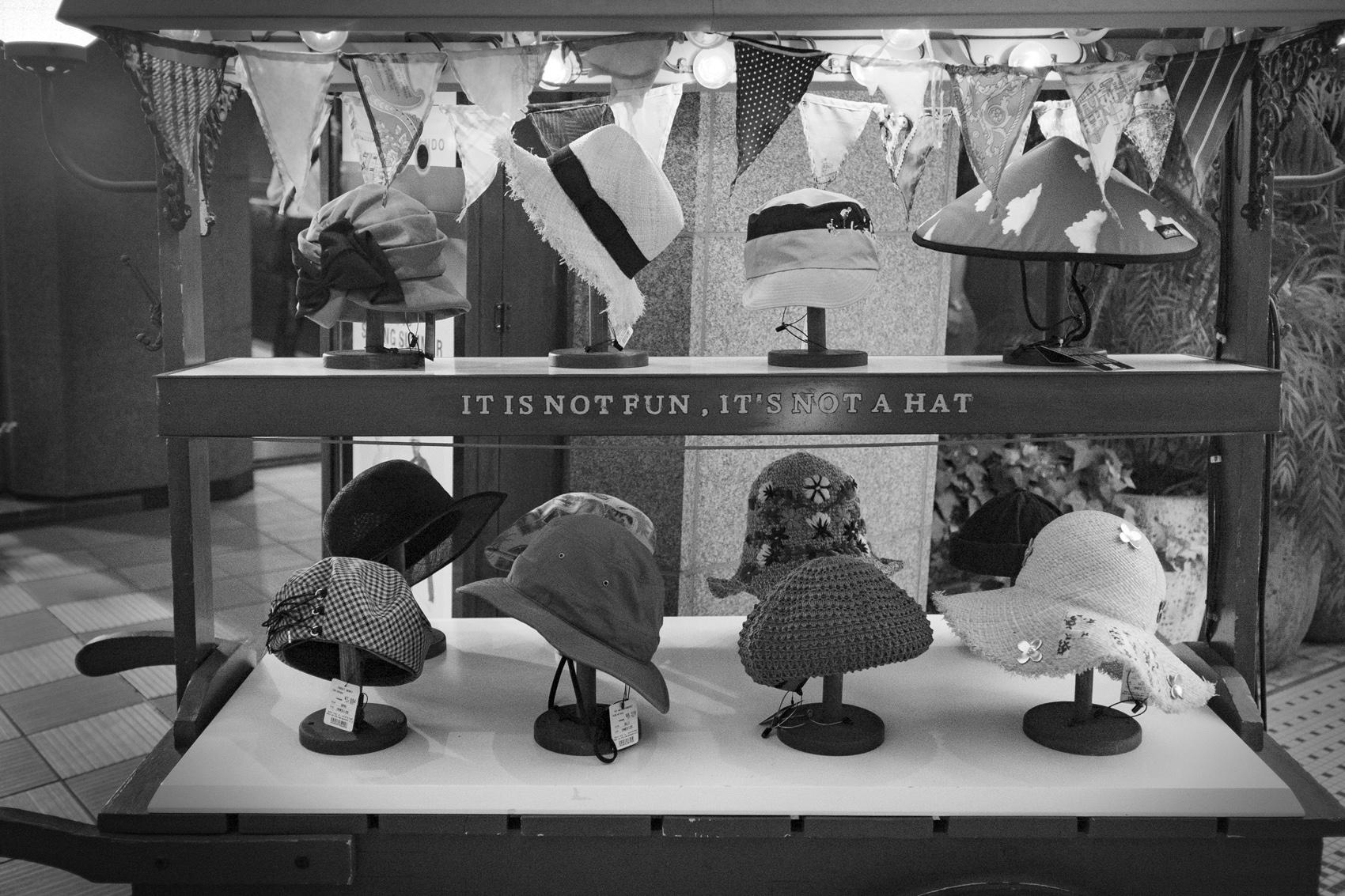 帽子Hats