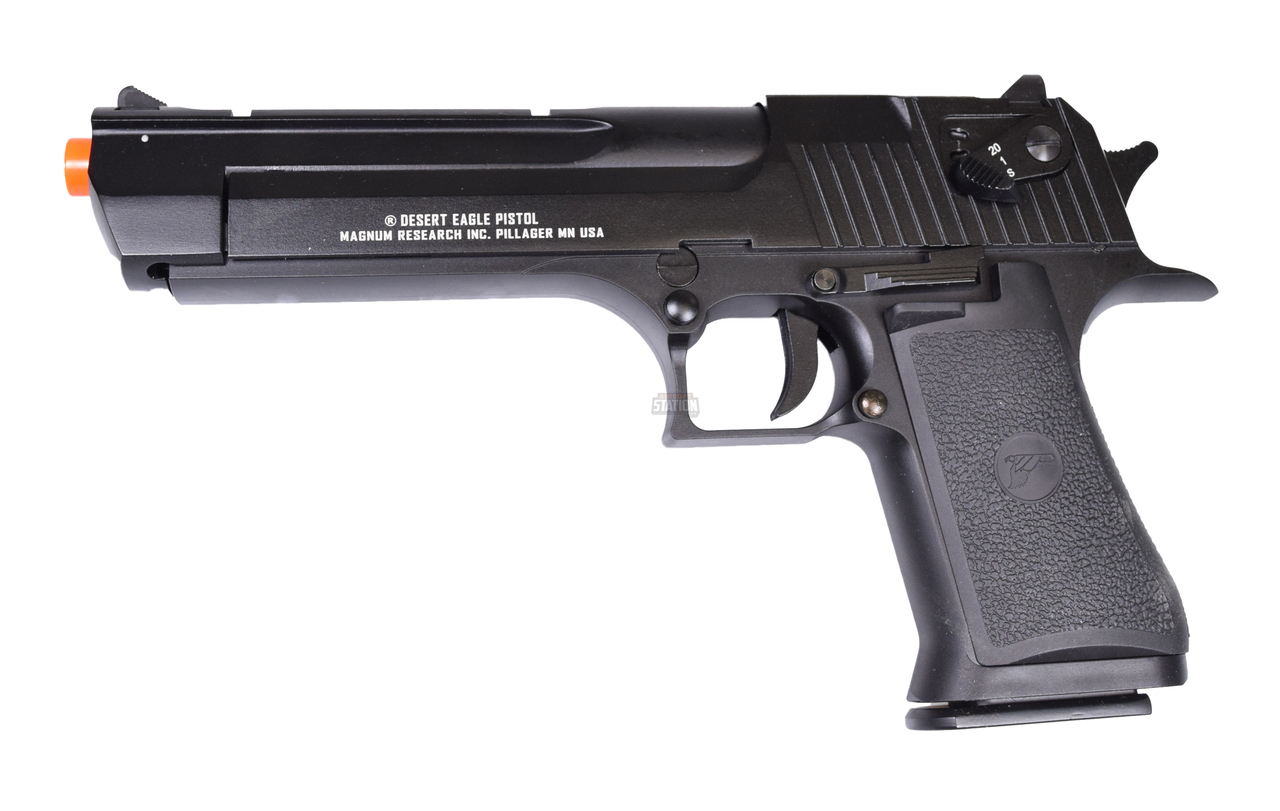 We Tech Desert Eagle 50 Ae Full Metal Gas Blowback Airsoft Pistol By Cybergun Color Black Paso Del Norte Tactical