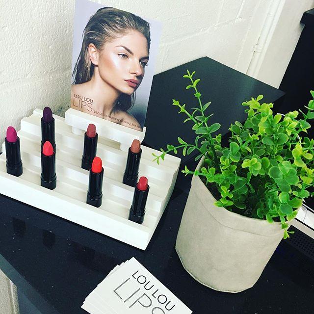 LOU LOU LIPS available in salon $22 each.  @platinumstylewgl @lou_lou_lips #warragulsalon #warragulbusiness #warragulhairdresser #lipsticks #louloulips #nowavailable