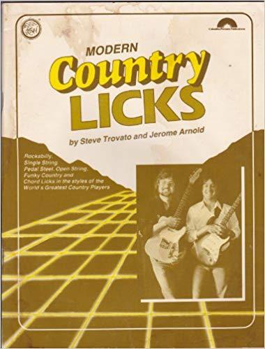 Modern Country Licks - Paperback – 1983