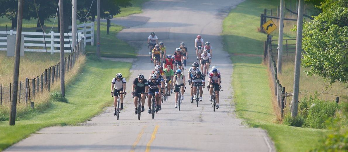 Ride with us… - … each week we roll over the flats, exploring the county on our selection of well-marked weekly group rides and several annual flagship events.