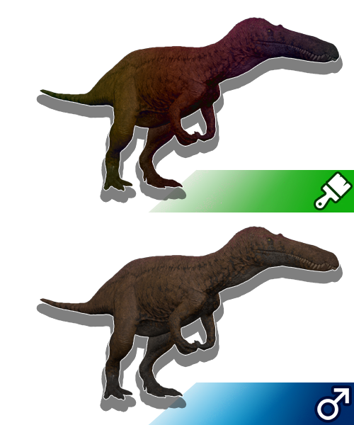 Survival Dino | Custom Skins | Water Dino