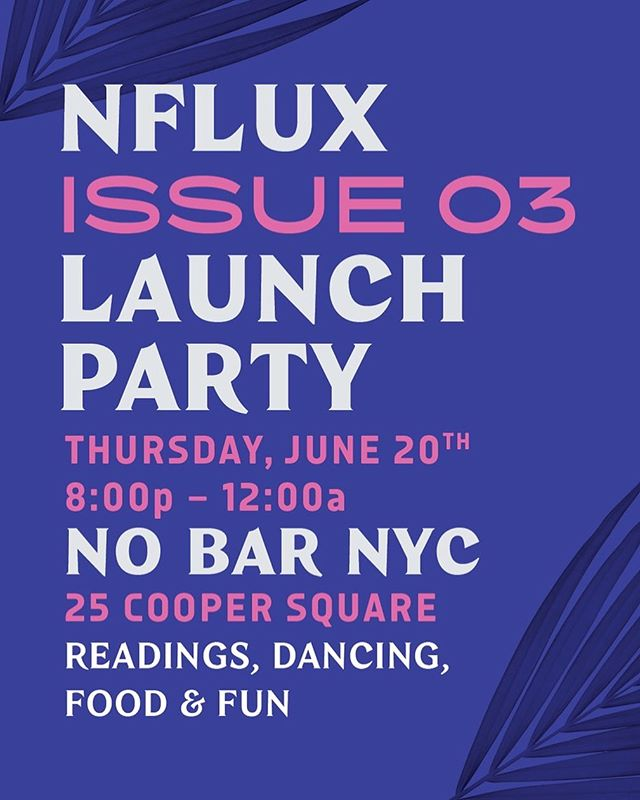 ✨PARTY TIME!✨⁣⁣⁣ ⁣⁣ Come celebrate the release of Issue 03 - Summer Solstice next Thursday at 👉🏾@nobar.nyc!!⁣⁣⁣ ⁣⁣⁣ It's the last day of Gemini season so you know we have to go OFF! ⁣⁣⁣ ⁣⁣⁣ 🎶 Sounds by @museofire!⁣⁣⁣ ⁣⁣⁣ 🔮 Astrology readings by @thatssopisces! ⁣⁣⁣ ⁣⁣⁣ 🧿 Tarot readings by @cusps_arent_real & @natali.nicole! ⁣⁣⁣ ⁣⁣⁣ ⚡️10% off of Issue 03 when purchased at our party!⁣⁣⁣ ⁣⁣⁣ Let's twerk the night away in honor of #pride, Gemini Season, the Solstice, and this beautiful magazine! ⁣⁣⁣ ⁣⁣⁣ See you there! ⁣⁣⁣ ⁣⁣ ⁣❤️🧡💛💚💙💜⁣⁣ .⁣⁣⁣ .⁣⁣⁣ .⁣⁣⁣ .⁣⁣⁣ #nflux #nfluxmag #launchparty #launch #issue3 #magazine #selfpublished #blackowned #nyc #newyorkcity #party #nycparty #nobar #nobarnyc #thestandardnyc #gaybar #pride2019 #nycpride #astrology #geminiseason #gemini #cancerseason #summer #summersolstice #summertime #solstice #june20 #timetotwerk