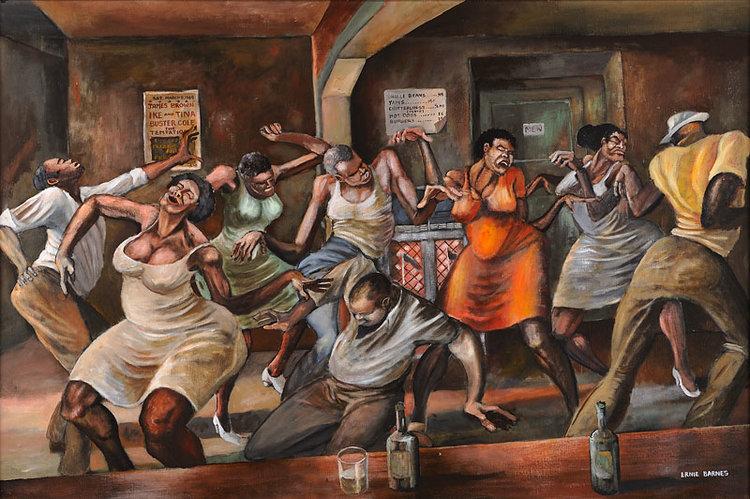 Dance Hall from  www.holmesartgallery.com .